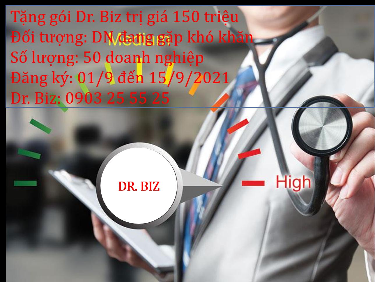 Dr Biz - Bác sỹ chẩn đoán sức khoẻ doanh nghiệp
